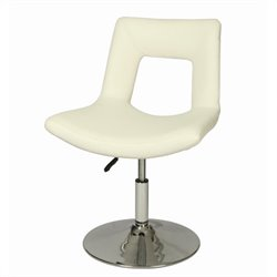 Pastel Furniture Dublin  Dining Chair with Lift Upholstered in Ivory