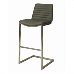 Pastel Furniture BuXton Bar Stool in Gray