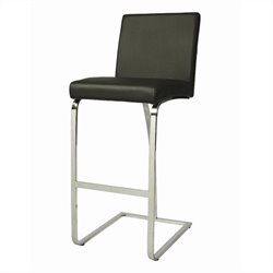 Pastel Furniture Monaco Bar Stool in Black