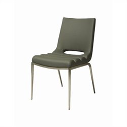Pastel Furniture Emily  Dining Chair in Gray