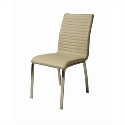 Pastel Furniture Judith  Dining Chair in Champagne