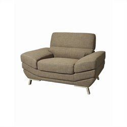 Pastel Furniture Glamis Castle Club Chair in Gray