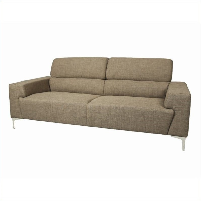 Pastel Furniture Trafalgar Sofa in Gray