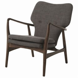 Pastel Furniture Elizabeth Club Chair in Gray