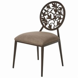 Pastel Furniture Brownsville  Dining Chair in Coffee Brown