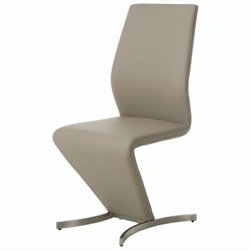Pastel Furniture Capani  Dining Chair in Champagne