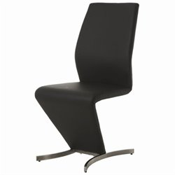 Pastel Furniture Capani  Dining Chair in Black