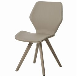 Pastel Furniture Glasgow  Dining Chair in Champagne