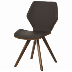 Pastel Furniture Glasgow  Dining Chair in Coffee