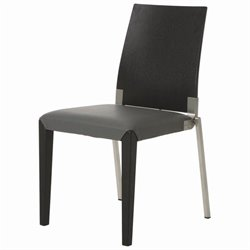 Pastel Furniture Quinn  Dining Chair in Gray