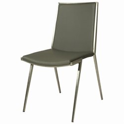Pastel Furniture Roxanne  Dining Chair in Gray