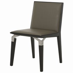 Pastel Furniture Tarifa  Dining Chair in Taupe