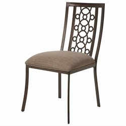 Pastel Furniture Valentijn  Dining Chair in Coffee Brown