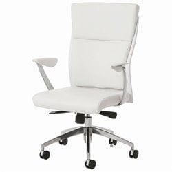 Pastel Furniture New Jersey Office Chair in Ivory