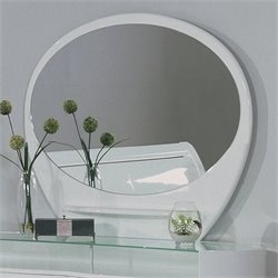 Global Furniture USA Emily Mirror in White