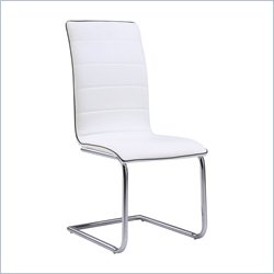 Global Dining Chair in White