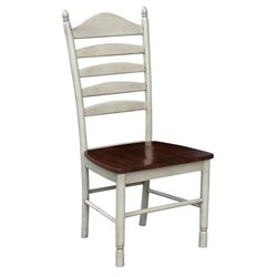 International Concepts Dining Chair in Beach White (Set of 2)