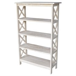 X-Sided 4 Tier Bookcase