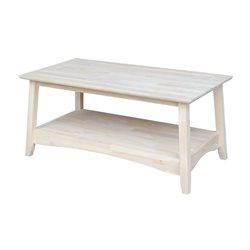 Whitewood Bombay Rectangular Coffee Table