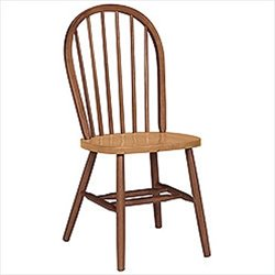 Windsor Dining Chair in Cinnamon and Espresso Finish