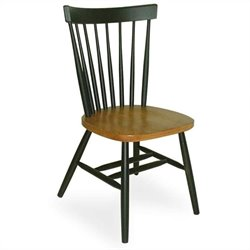 Dining Chair in Black and Soft Cherry