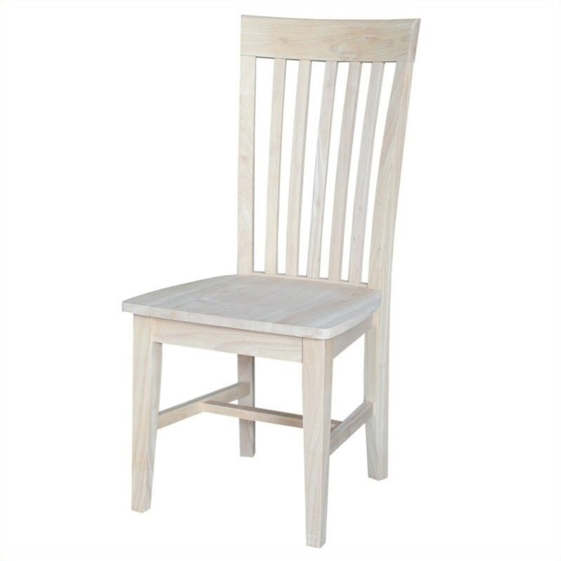 Unfinished Tall Dining Chair (Set of 2)