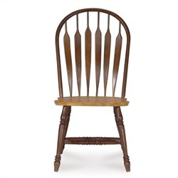 Windsor Dining Chair in Cinnamon/Espresso