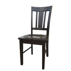 Splat Dining Chair in Rich Mocha (set of 2)