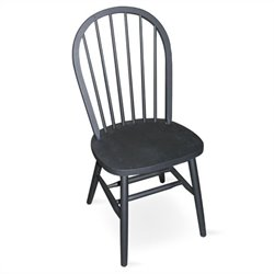 Spindleback Windsor Dining Chair in Black Finish
