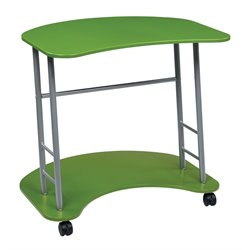 Computer Cart in Apple Green