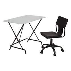 2 Piece Office Set in Black