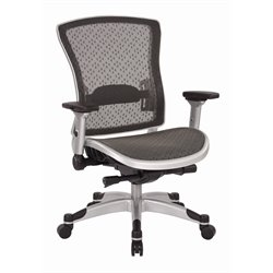 Mesh Back Office Chair in Gray