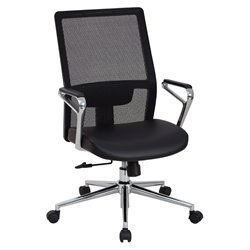 High Back Managers Chair in Black