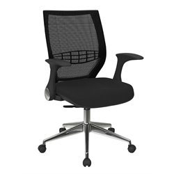 Back Managers Chair in Black