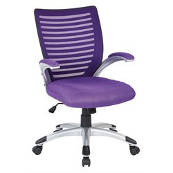 Managers Chair in Purple