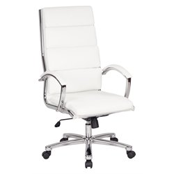 High Back Executive Chair in White