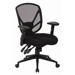 Black Office Chair in Black