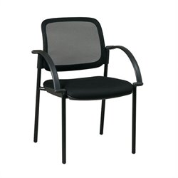 Visitors Guest Chair in Black