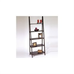 Ladder Bookcase in Espresso