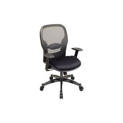 Back Office Chair in Black