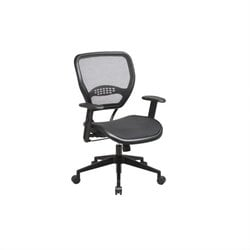 Air Grid Deluxe Task Office Chair in Black