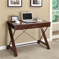 Office Star INSPIRED by Bassett Rosalind Writing Desk in Pecan
