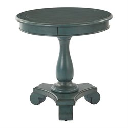 Office Star Inspired by Bassett Round Pedestal Table in Caribbean