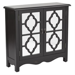 Office Star Inspired by Bassett Accent Chest in Black