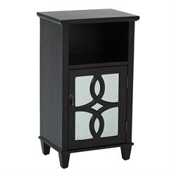 Office Star Inspired by Bassett Accent Table in Black