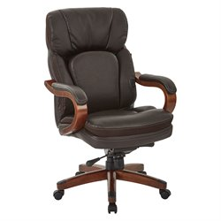 Office Star Inspired by Bassett Office Chair in Brown