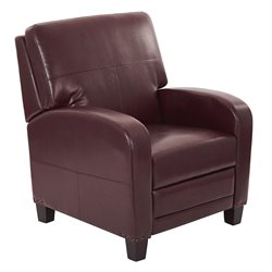 Office Star Inspired by Bassett Recliner in Cocoa