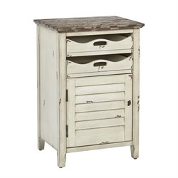 Office Star OSP Designs Accent Table in Country Cottage