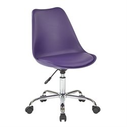 Office Star Ave Six Desk Chair in Purple