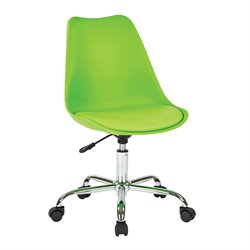 Office Star Ave Six Desk Chair in Green
